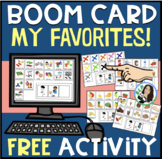 My Favorites FREE Boom Card Activity