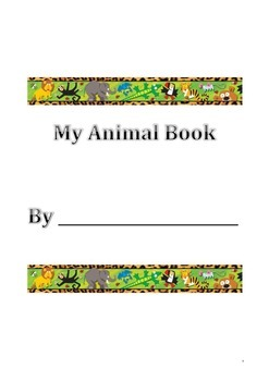 My Favourite Animal Book