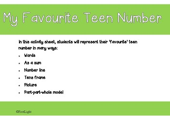 My Favourite Teen Number