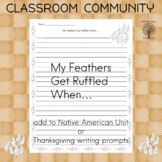 My Feathers Get Ruffled When ... Building Classroom Community