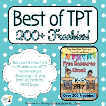 Trending Tech in TN's Freebies Page from the TPT Social Marketplace Ebook