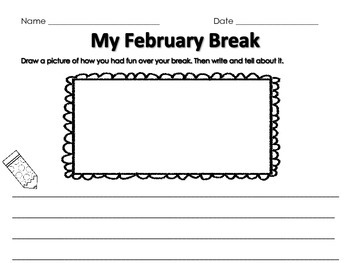 My February Break
