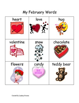 My February Words