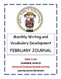My February Writing Journal