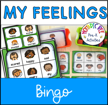 My Feelings Bingo