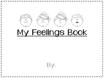 photograph regarding Feelings Book Printable identified as My Thoughts Guide