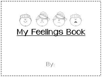 my feelings book by lissx0 teachers pay teachers - Feelings Coloring Book