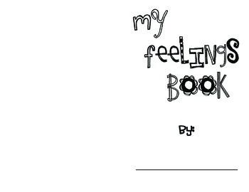 My Feelings Book - Activity