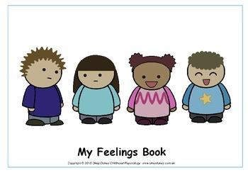 My Feelings Book - a workbook to help children understand their emotions