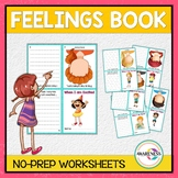 Identifying My Feelings : Feelings Book Activity