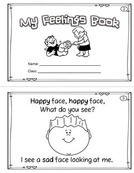 Fabulous image regarding feelings book printable