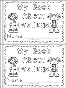 My Feelings Pack {Book, Posters, and Activities}