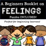 Feelings Booklet for Beginning Learners