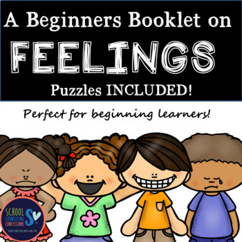 My Feelings - Print, Learn and Draw Worksheets and Puzzles
