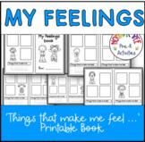 My Feelings Printable Book