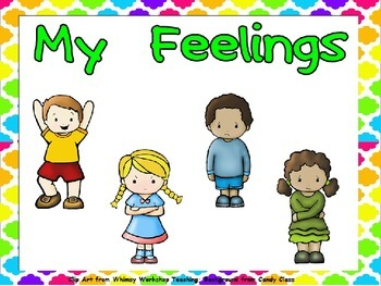 My Feelings Shared Reading for Kindergarten..All About Me theme- Level B