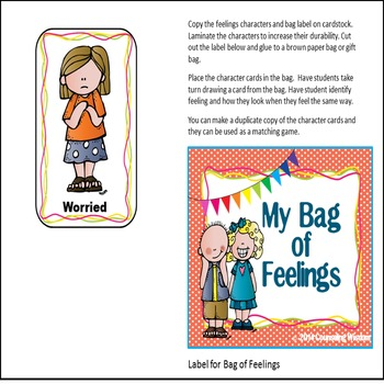 My Feelings Thermometer Activities-Identify Basic Feelings