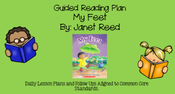 My Feet (Level B) Guided Reading Lesson Plan
