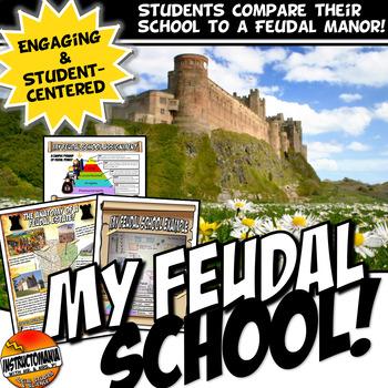 My Feudal School: A School and Feudal Manor Comparison Activity