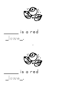 """Harcourt Storytown K, lesson 11, My Ff book-(Here is a)sight words """"here"""""""