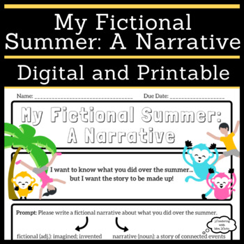 My Fictional Summer: A Narrative