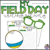 My Field Day Writing Activity