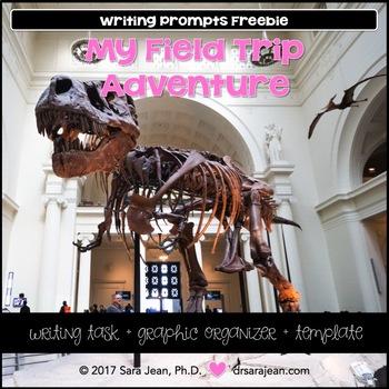 My Field Trip Adventure Writing Prompts Freebie