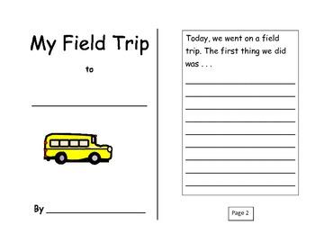 My Field Trip Format