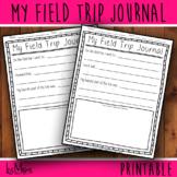 My Field Trip Journal Bundle