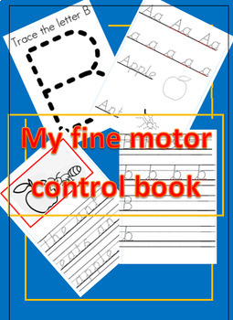 My Fine Motor Control Book Handwriting