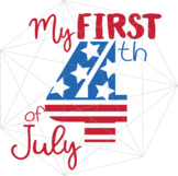 My First 4th of July SVG Independence Day Crafters America