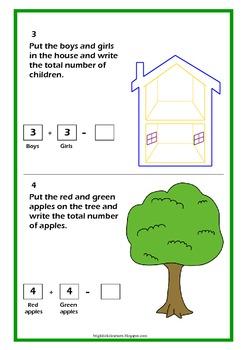 Kindergarten Math - Addition and Subtraction