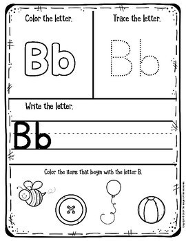 My First Alphabet Learning Notebook