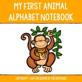 My First Animal Alphabet Notebook