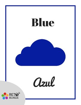 My First Bilingual Poster - Colors / Mi Primer Poster Bilingüe - Colores