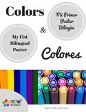 My First Bilingual Poster - Colors / Mi Primer Poster Bili