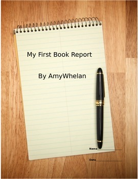 My First Book Report