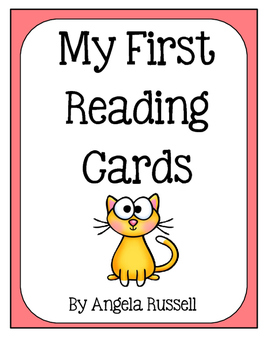 My First Reading Cards