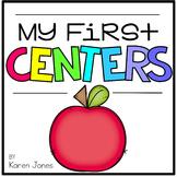 My First Centers  {Kindergarten}