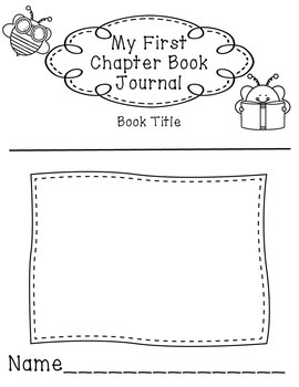 Beginning Chapter Book Reading Response Journal