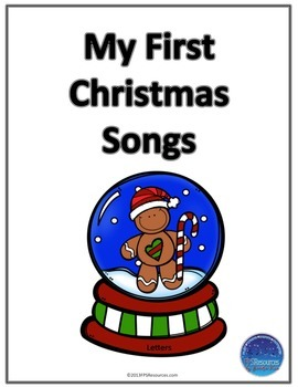 My First Christmas Songs (letter names)