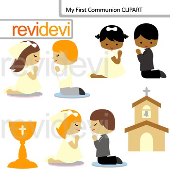 My First Communion Digital Clip art