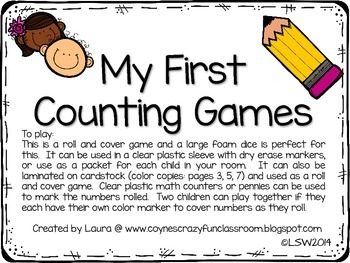 My First Counting Games