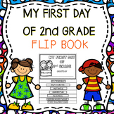 My First Day Of 2nd Grade Flip Book