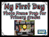 My First Day Photo Frame Prop Printables {FREEBIE}