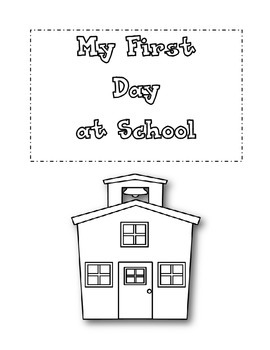My First Day at School (Bilingual)