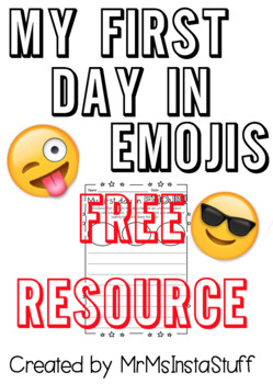 My First Day in EMOJIS!!