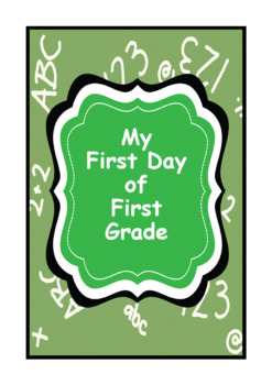 My First Day in First Grade Poem