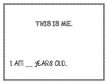 My First Day in Kindergarten ~ Student book