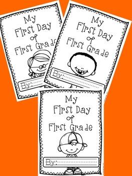 My First Day of First: A First Day of First Grade Memory Book